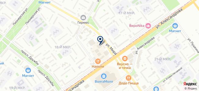 Магазин элементов питания на ул. Мира, 42г на карте