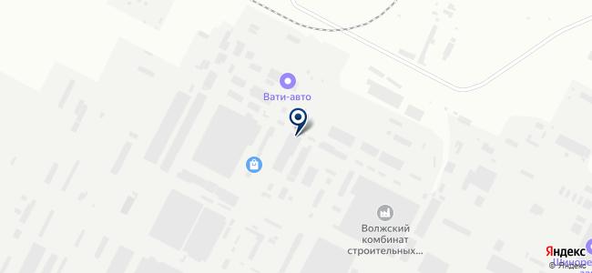 ВАТИ, ОАО на карте