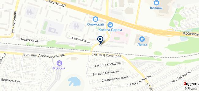 Автосервис на проспекте Строителей, 4г на карте
