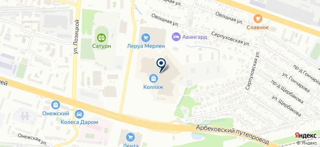 Шопоголик на карте