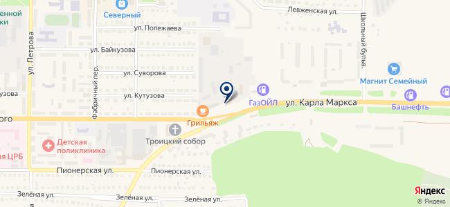 ИнструментЦентр на карте