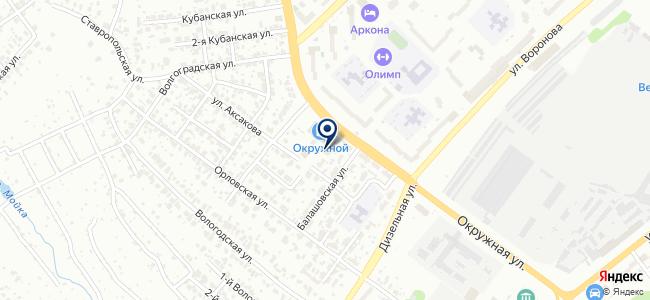 Ремонтная мастерская на ул. Аксакова, 38а на карте