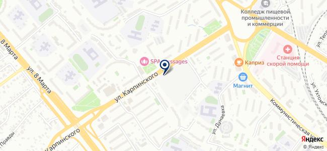 ГеоЗем на карте