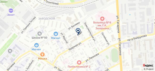 МЭЛ-Пенза, ООО на карте