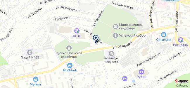Антара, ООО на карте