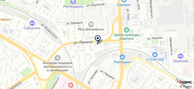 Домик на карте