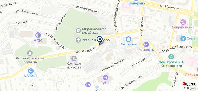 Стройкомп на карте