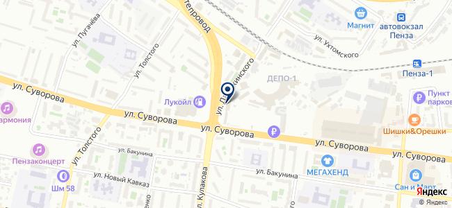 Комэнертехника, ООО на карте