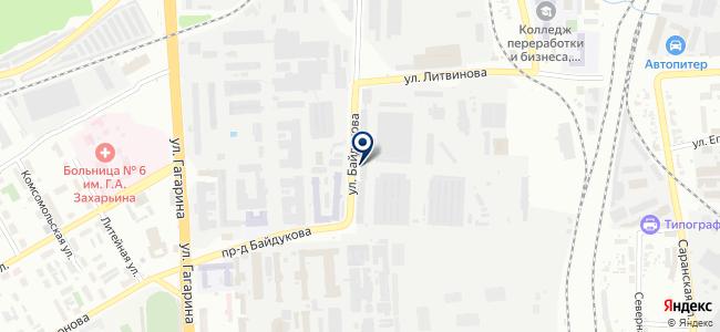 Радиозавод, ОАО на карте