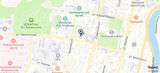 Бирос, ООО на карте