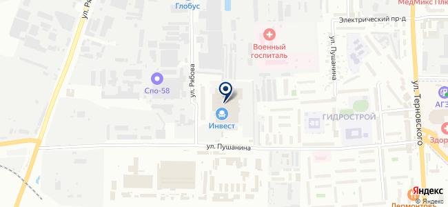 Пензенский Электромеханический завод, ООО на карте