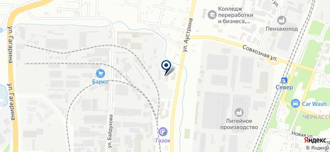 ВДНХ на карте