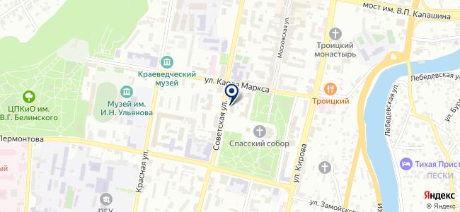 Пензтехнопром, ООО на карте