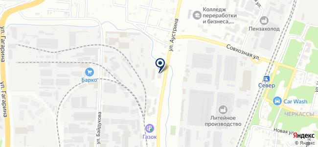 Торговая площадь на карте