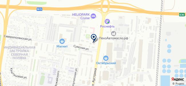 Урал+ на карте