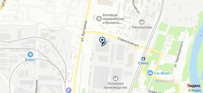 Сура-Сервис, ООО на карте