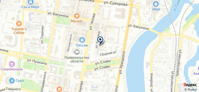 Хозмаг на карте