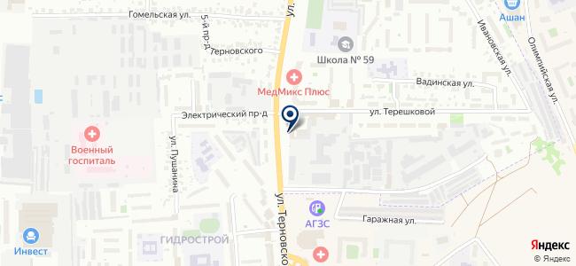 Каскад-Сервис, ООО на карте