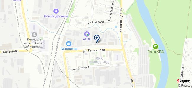 Корпорация Дилижанс, ООО на карте