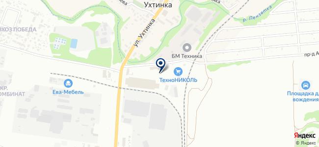 ПРАКТИК на карте