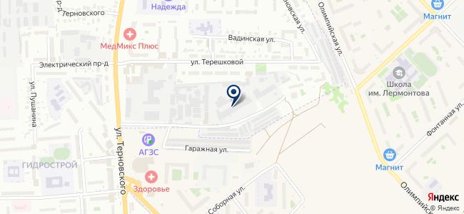 Пензасельхозмонтаж, ООО на карте