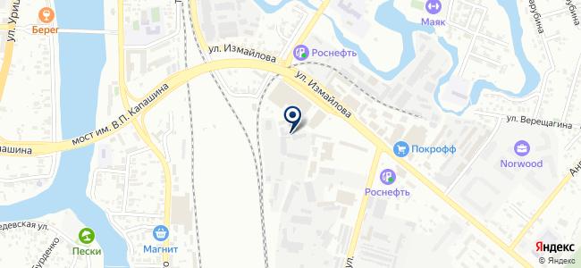 Электродом на карте