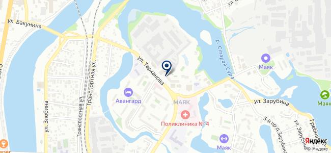 Электрощит-Пенза на карте