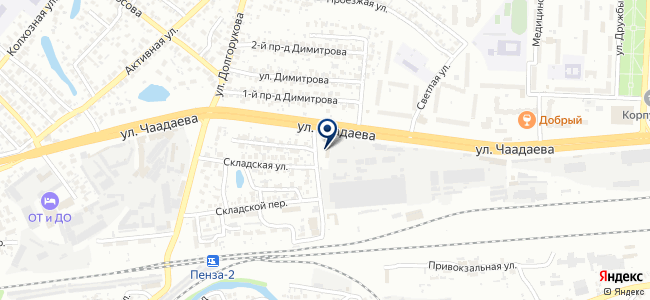 Базис, ООО на карте