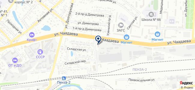 Универсалкомплект, ООО на карте