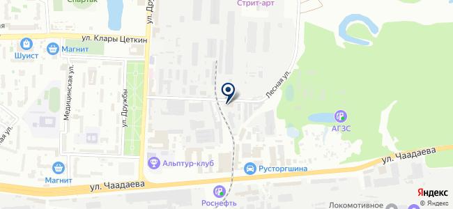 Газовик М на карте