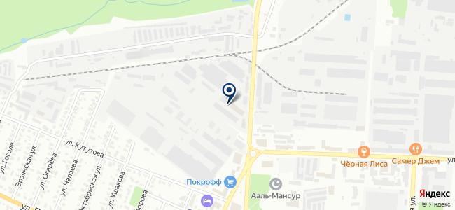 ТехноЛидер на карте