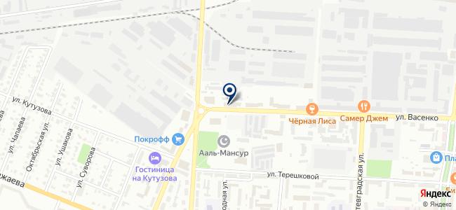 Филин на карте