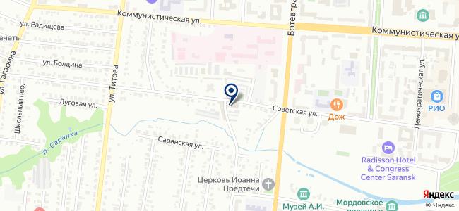 Связьэлектромонтажстрой на карте