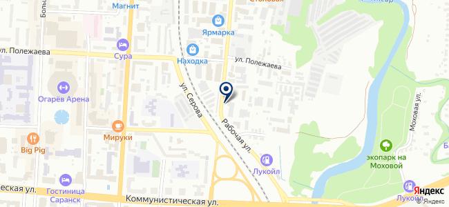 Искра, ООО на карте