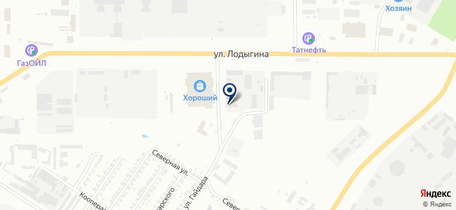 Саранский электроламповый завод, ООО на карте