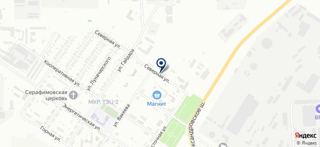 Саранская электронная компания, ООО на карте