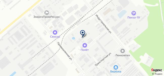 НПК-Лазер, ООО на карте