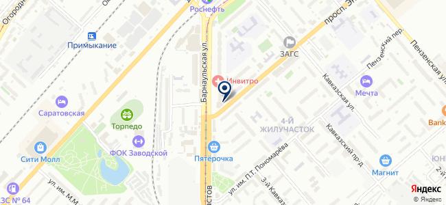 Картас, ООО на карте