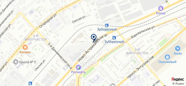 Строймаг на карте