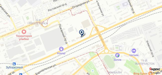 Рио-Поволжье на карте