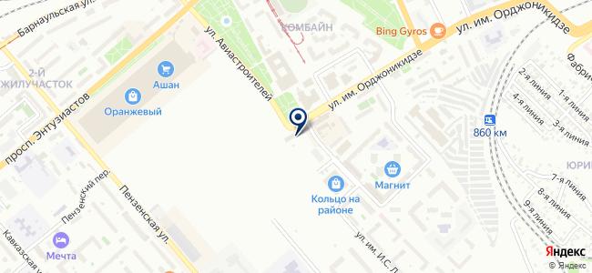 Юнис, ООО на карте