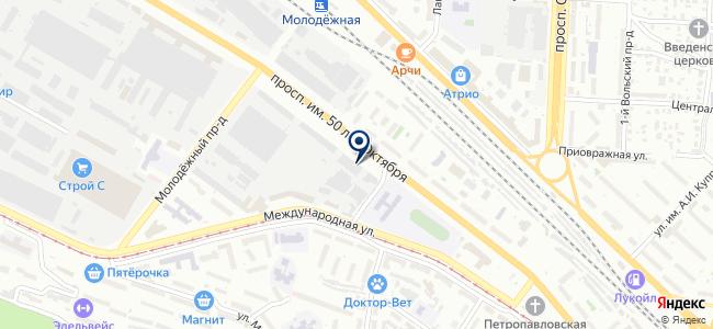 Моссар, ООО на карте