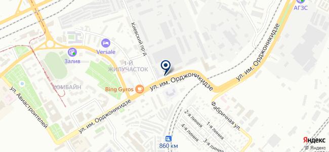 Завод автономных источников тока, ОАО на карте