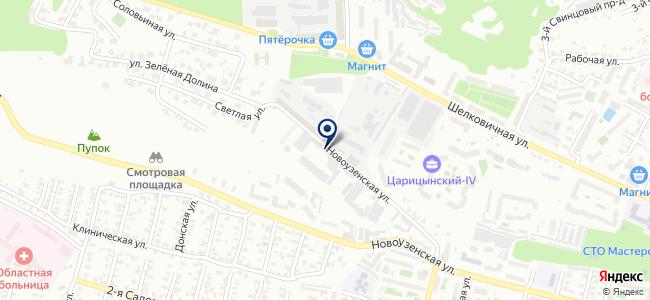 Саратовский автобусный парк, ОАО на карте