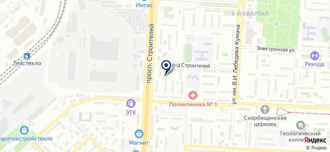 Электроклуб на карте