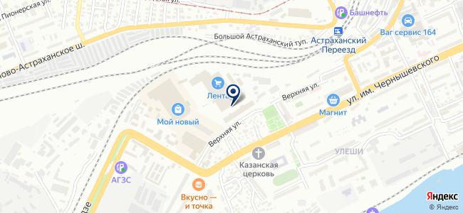 Евроток на карте