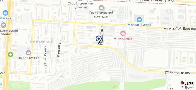 Авеню Спецодежда на карте