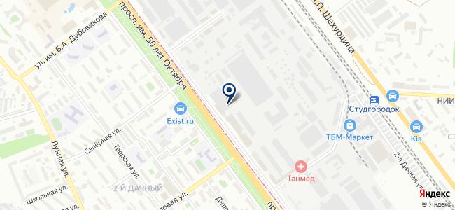 Эскосар, ООО на карте