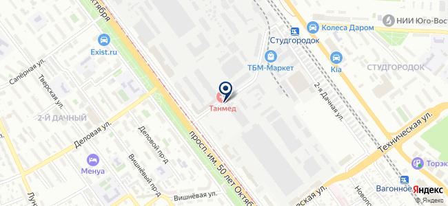 Квадр, ООО на карте