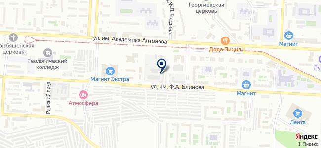 Промгеофизсервис, ЗАО на карте